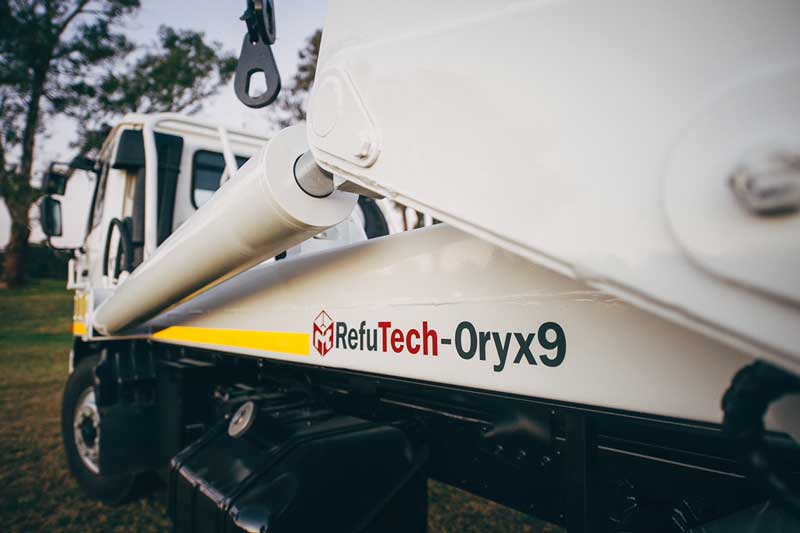 RefuTech Oryx9 | Refuse Removal Equipment