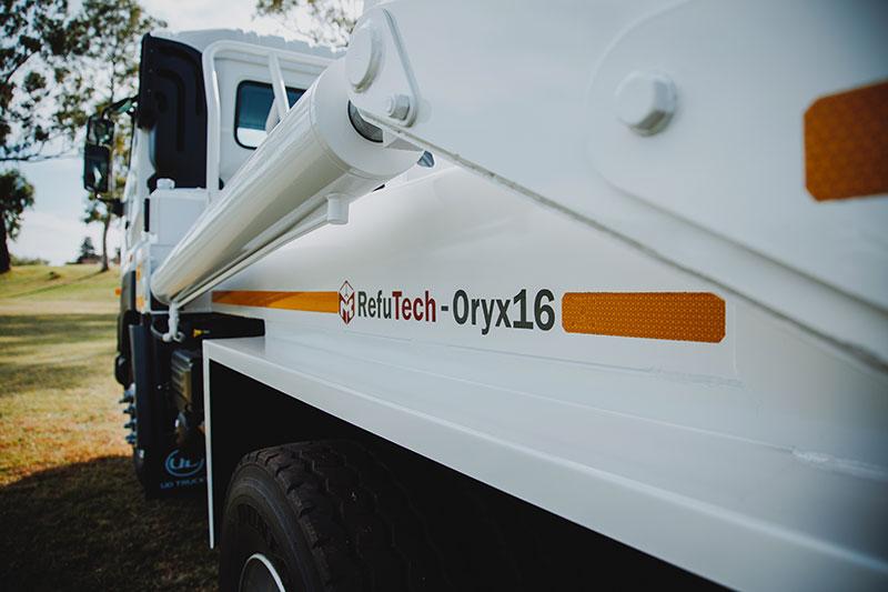RefuTech Oryx16 | Refuse Removal Equipment